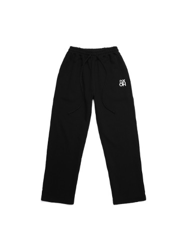 [태민,정연 착용]DXOH LOGO PANTS BLACK