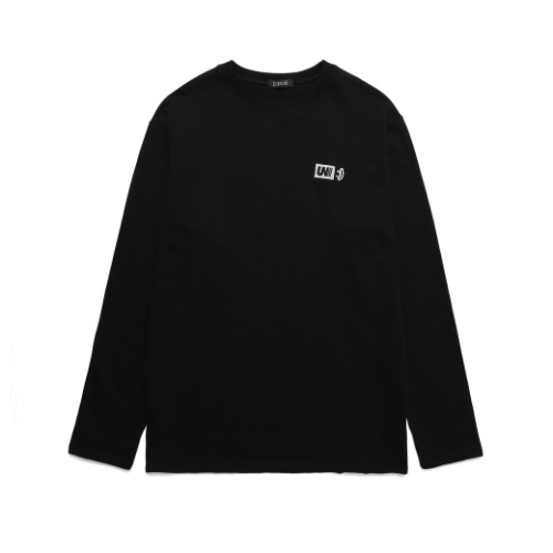 BASIC LOGO LONG SLEEVE [BLACK]