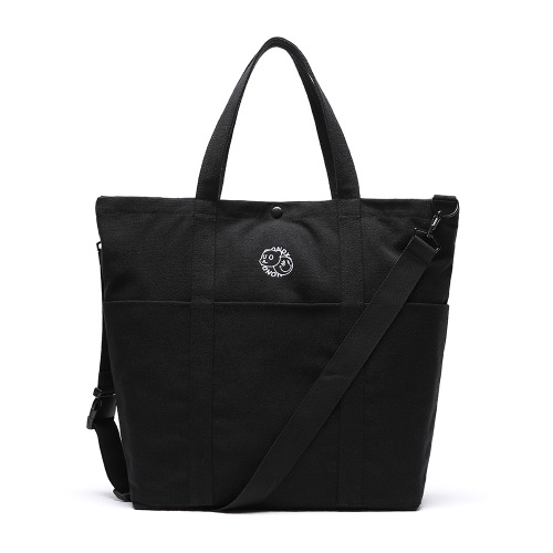DXOH X UNION LOGO 2WAY BAG [BLACK]