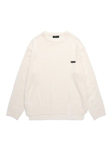 SMILE PIN KNIT [WHITE]